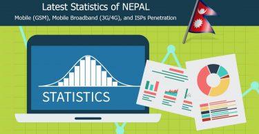 Nepal Telecommunications Latest Statistics
